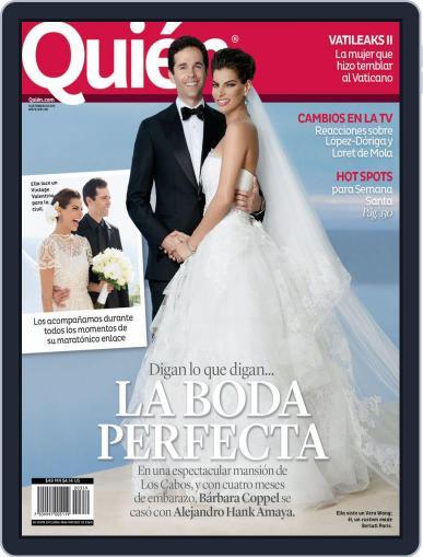 Quién February 15th, 2016 Digital Back Issue Cover