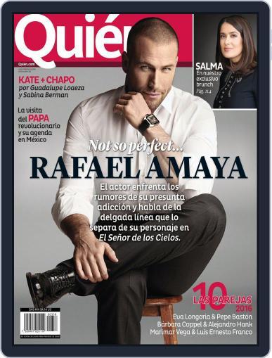 Quién (Digital) February 1st, 2016 Issue Cover