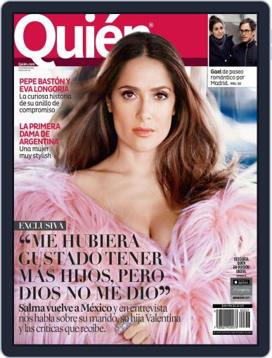 Quién (Digital) January 25th, 2016 Issue Cover
