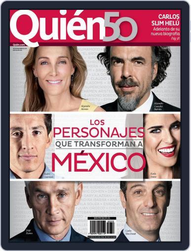 Quién (Digital) November 4th, 2015 Issue Cover