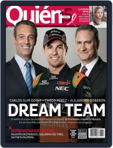 Quién (Digital) October 22nd, 2015 Issue Cover