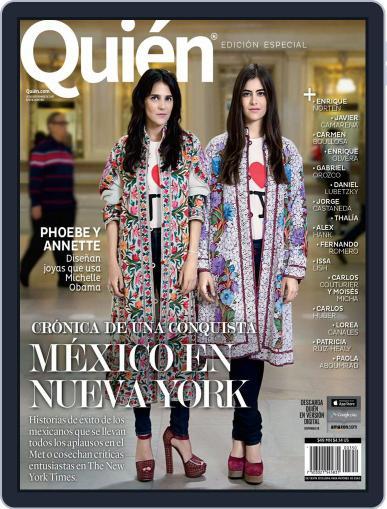 Quién (Digital) September 24th, 2015 Issue Cover