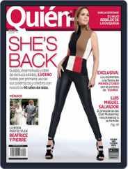Quién (Digital) Subscription September 1st, 2015 Issue