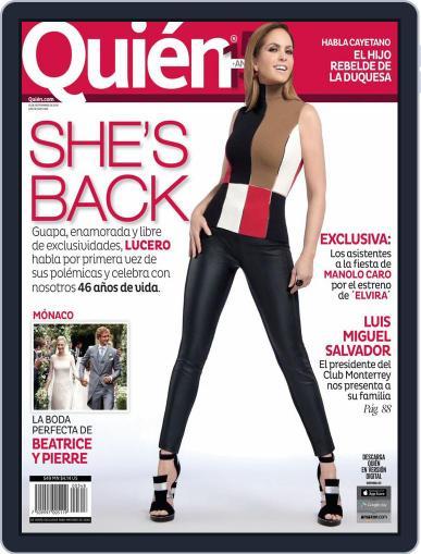 Quién (Digital) September 1st, 2015 Issue Cover