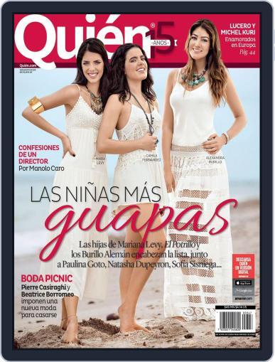 Quién August 14th, 2015 Digital Back Issue Cover