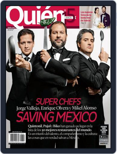 Quién (Digital) July 2nd, 2015 Issue Cover