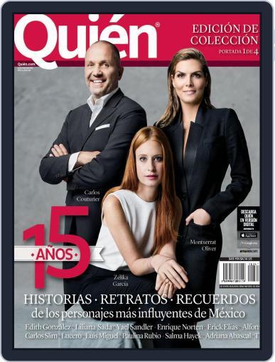 Quién (Digital) June 3rd, 2015 Issue Cover