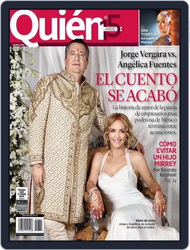 Quién (Digital) April 24th, 2015 Issue Cover