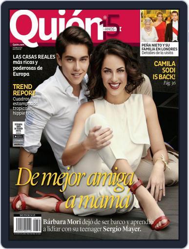 Quién (Digital) April 1st, 2015 Issue Cover