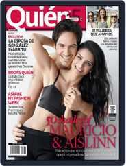 Quién (Digital) Subscription March 12th, 2015 Issue