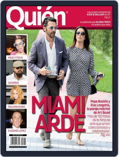 Quién (Digital) December 18th, 2014 Issue Cover