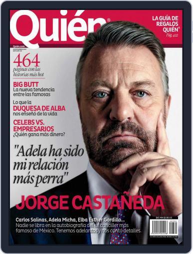 Quién (Digital) December 9th, 2014 Issue Cover