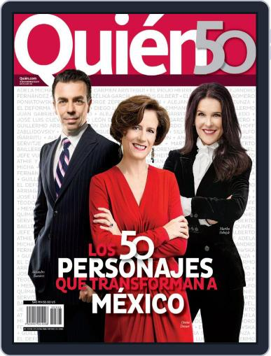 Quién November 6th, 2014 Digital Back Issue Cover