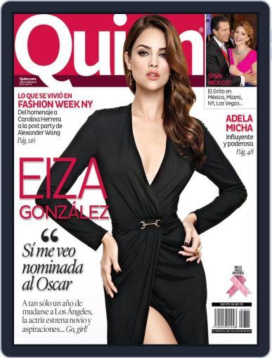 Quién October 27th, 2014 Digital Back Issue Cover