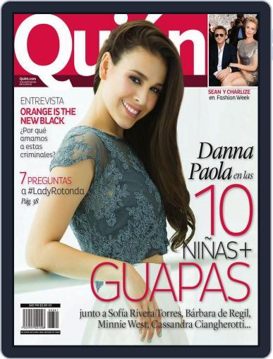 Quién (Digital) August 7th, 2014 Issue Cover
