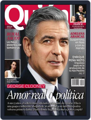 Quién July 7th, 2014 Digital Back Issue Cover