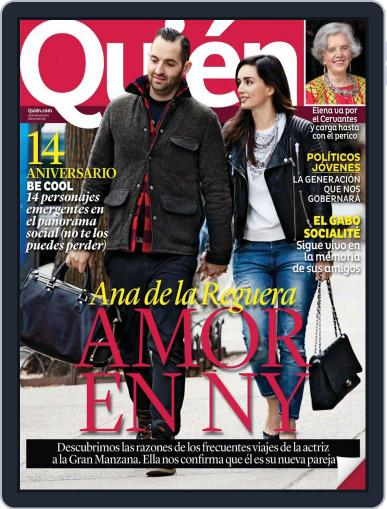 Quién (Digital) June 2nd, 2014 Issue Cover
