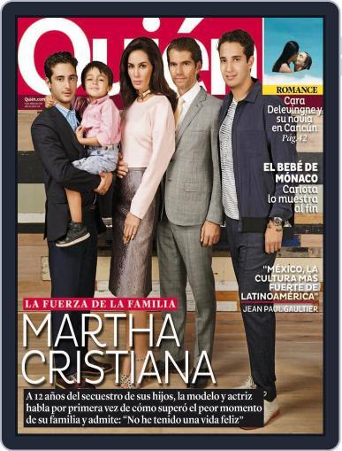 Quién April 11th, 2014 Digital Back Issue Cover