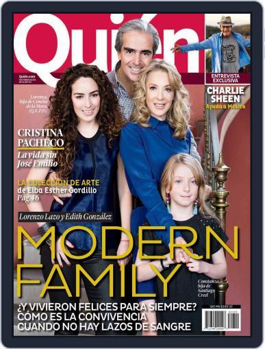 Quién (Digital) February 13th, 2014 Issue Cover
