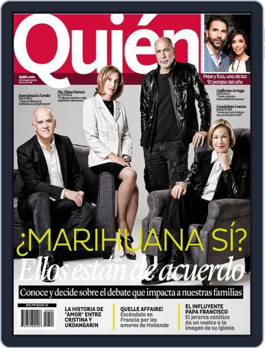 Quién (Digital) January 31st, 2014 Issue Cover