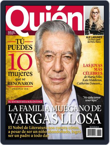 Quién (Digital) December 20th, 2013 Issue Cover