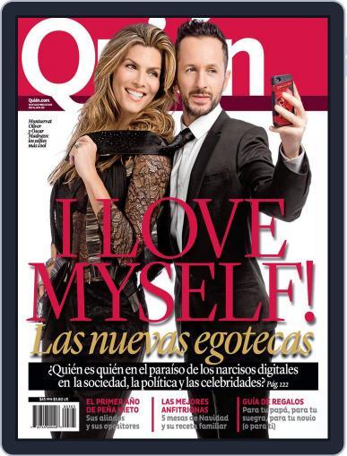 Quién December 5th, 2013 Digital Back Issue Cover