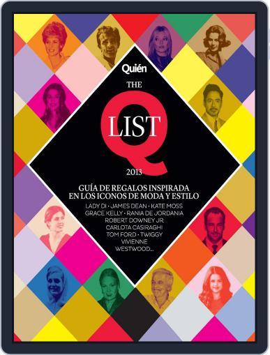 Quién (Digital) November 28th, 2013 Issue Cover