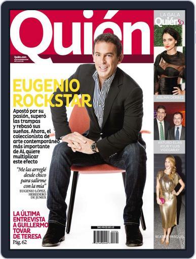 Quién (Digital) November 21st, 2013 Issue Cover