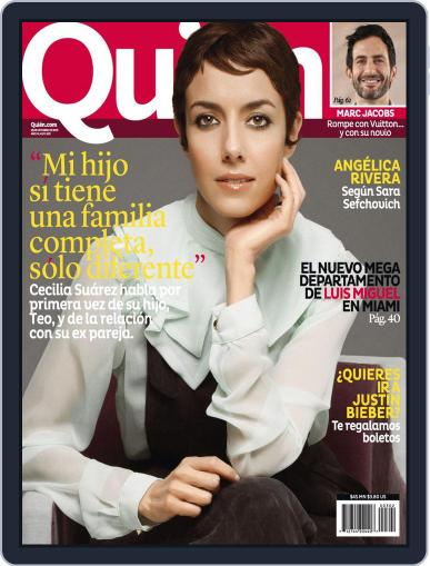 Quién October 24th, 2013 Digital Back Issue Cover