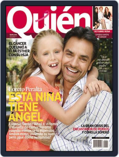 Quién October 10th, 2013 Digital Back Issue Cover