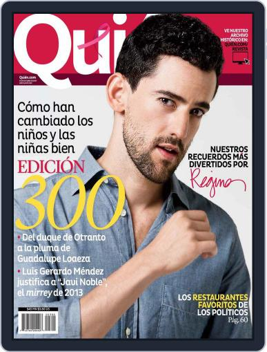 Quién September 26th, 2013 Digital Back Issue Cover