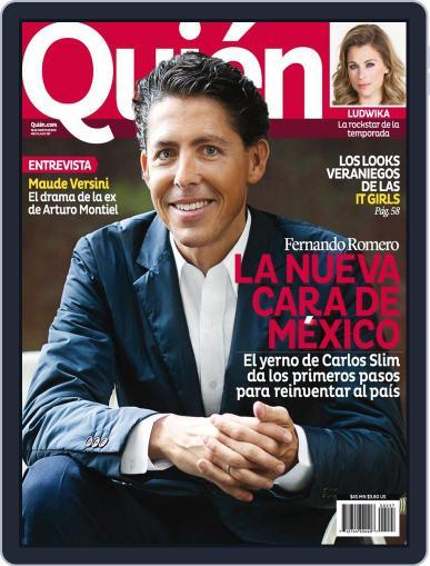 Quién (Digital) August 15th, 2013 Issue Cover