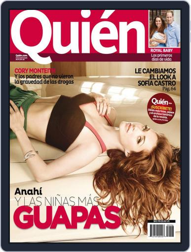 Quién August 1st, 2013 Digital Back Issue Cover