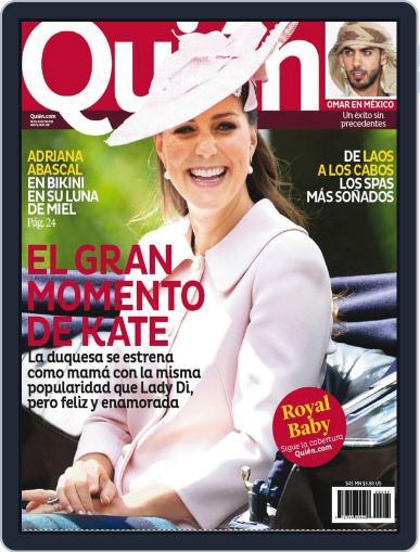 Quién (Digital) July 18th, 2013 Issue Cover