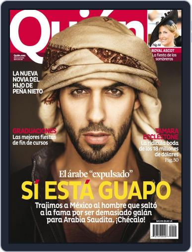 Quién (Digital) July 4th, 2013 Issue Cover