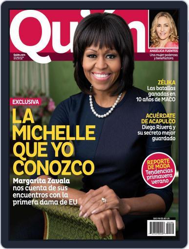 Quién (Digital) April 11th, 2013 Issue Cover