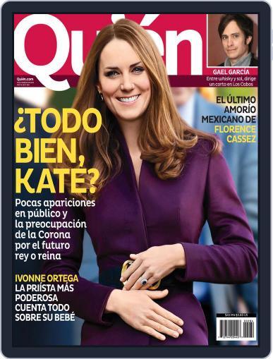 Quién February 14th, 2013 Digital Back Issue Cover