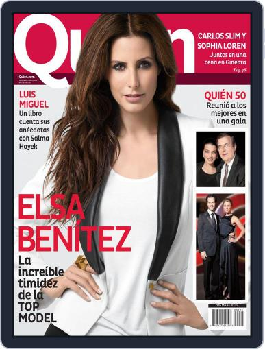 Quién November 23rd, 2012 Digital Back Issue Cover