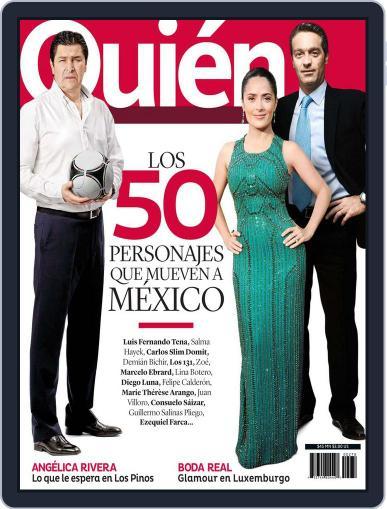 Quién November 8th, 2012 Digital Back Issue Cover