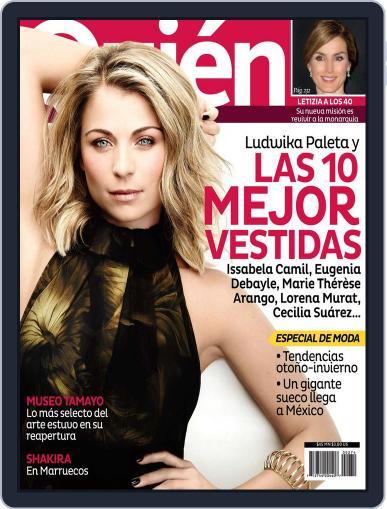 Quién (Digital) September 14th, 2012 Issue Cover