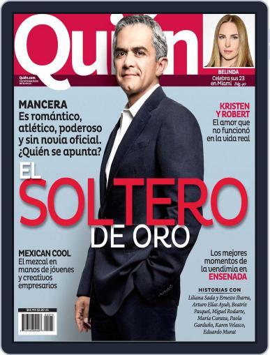 Quién August 30th, 2012 Digital Back Issue Cover