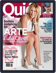 Quién (Digital) Subscription May 7th, 2012 Issue
