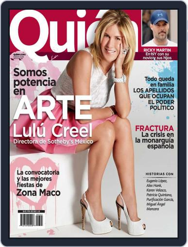 Quién May 7th, 2012 Digital Back Issue Cover