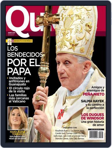 Quién (Digital) March 30th, 2012 Issue Cover