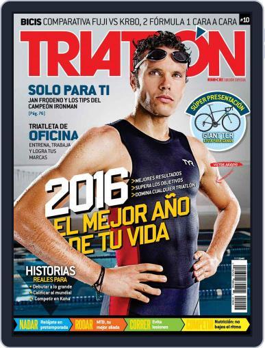 Bike Edición Especial Triatlón December 29th, 2015 Digital Back Issue Cover
