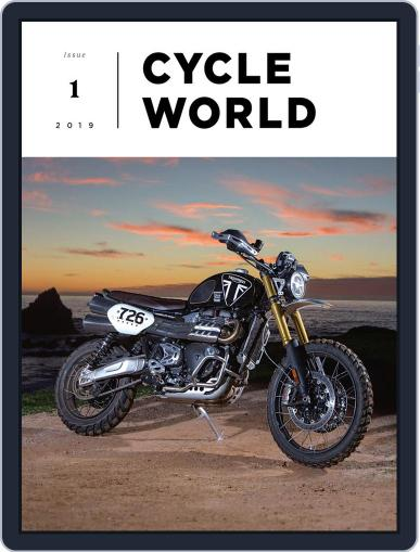 Cycle World February 27th, 2019 Digital Back Issue Cover