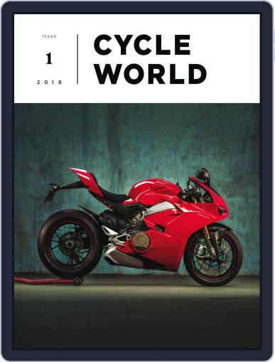 Cycle World February 26th, 2018 Digital Back Issue Cover