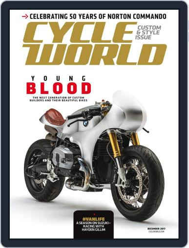 Cycle World (Digital) December 1st, 2017 Issue Cover