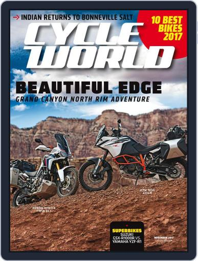 Cycle World (Digital) November 1st, 2017 Issue Cover