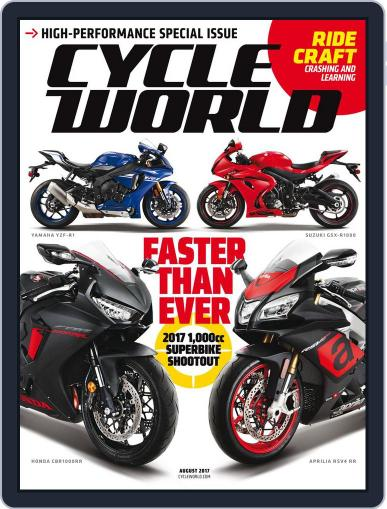 Cycle World (Digital) August 1st, 2017 Issue Cover